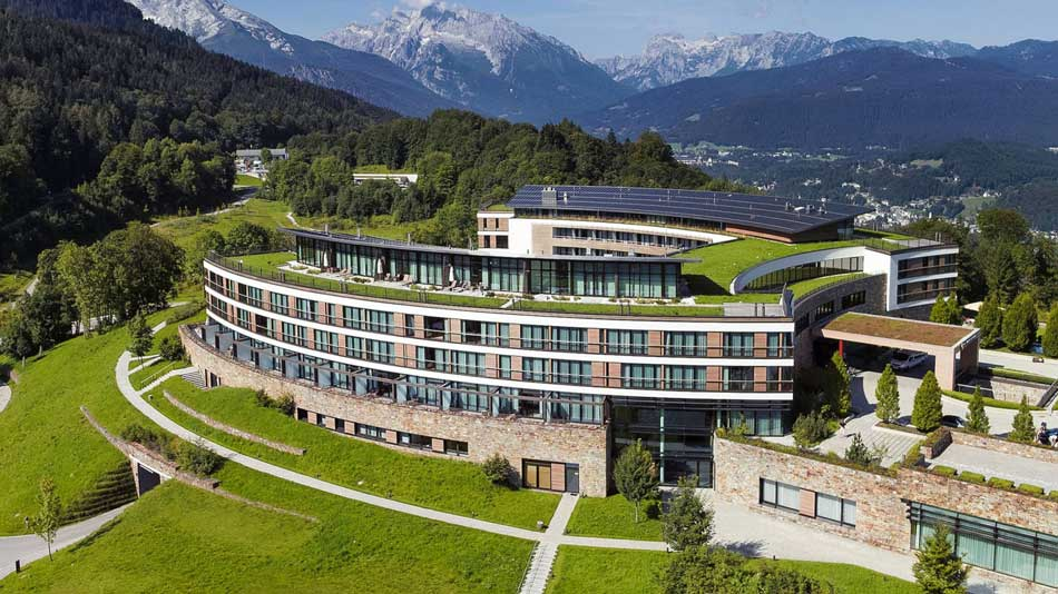 Kempinski Hotel Berchtesgaden Außenansicht