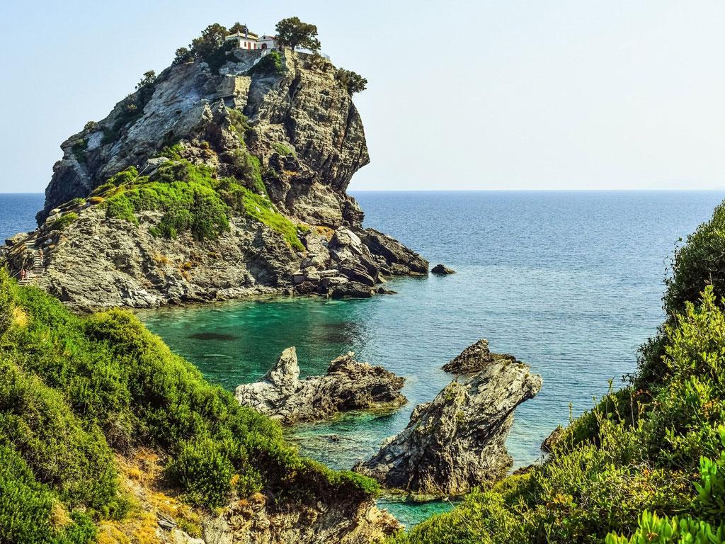 Küste in Griechenland