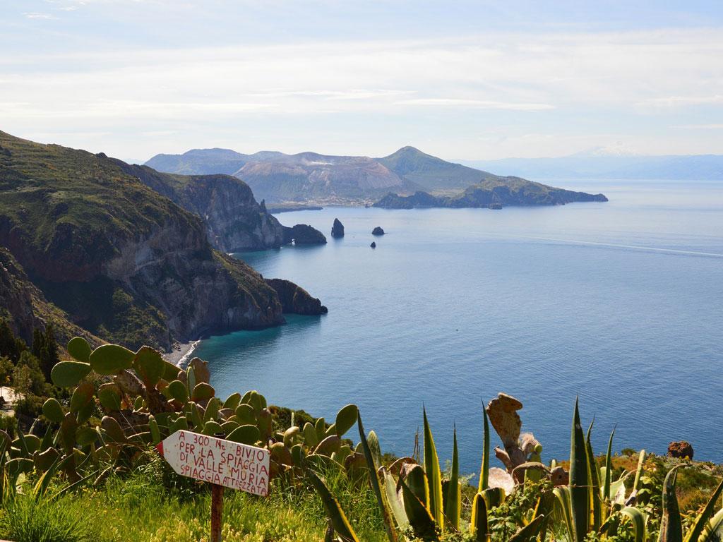 Küste auf Sizilien