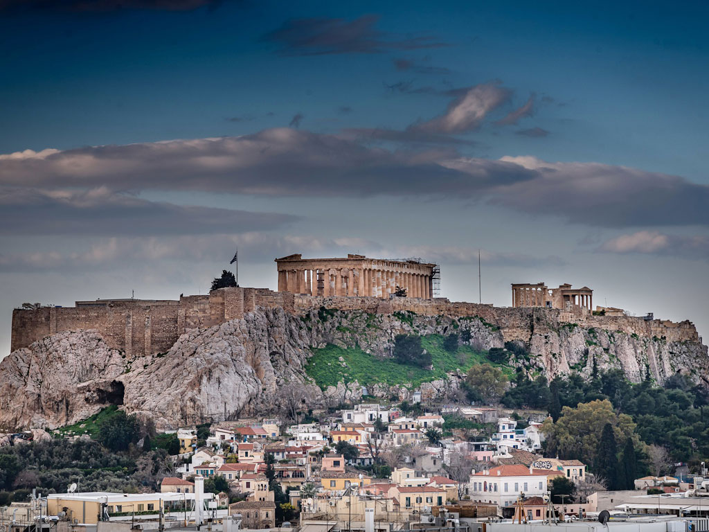 Athen mit Akropolis