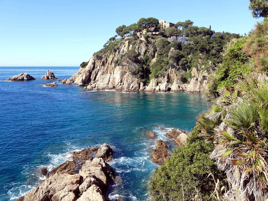 Küstenlandschaft an der Costa Brava