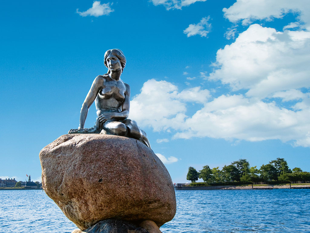 Statue an der Ostsee