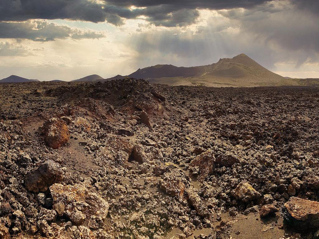 Mondlandschaft von Lanzarote