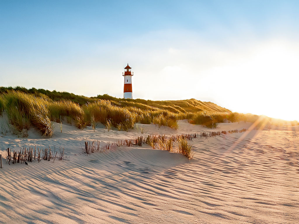Strand auf den Friesischen Inseln