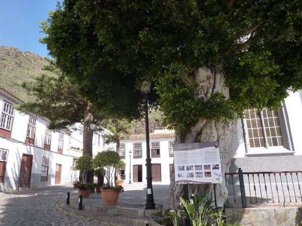 Teneriffa und La Gomera europa  Agulos Hauptplatz1