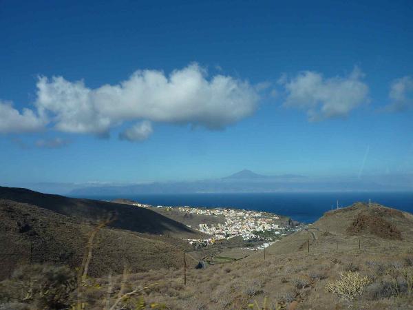 Teneriffa und La Gomera europa  Blick auf Teneriffa1