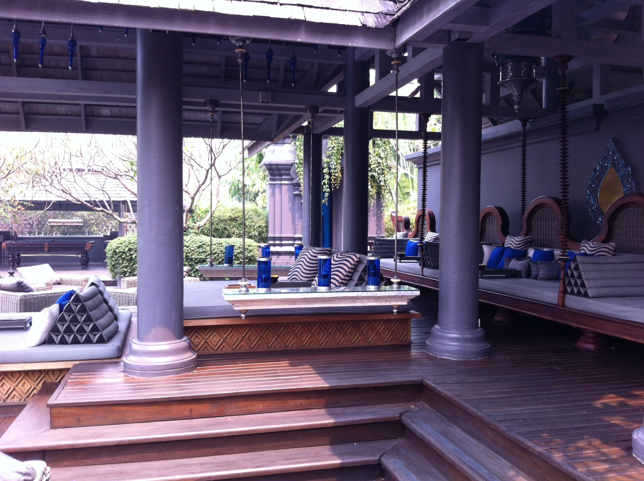 Bangkok und Chiang Mai thailand asien  Lounge Four Sesons
