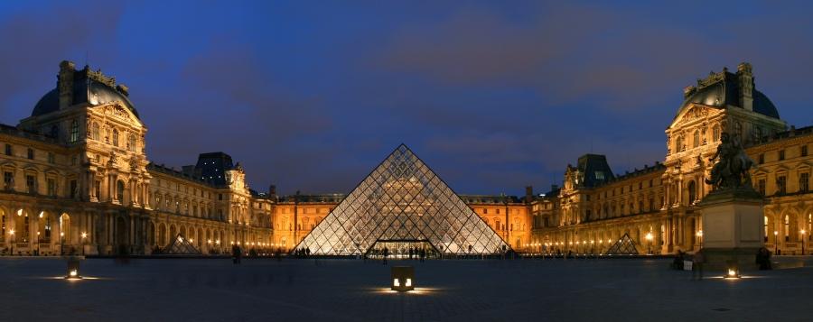 Paris, je t'aime staedtereisen frankreich europa  Louvre 2007 02 24 c