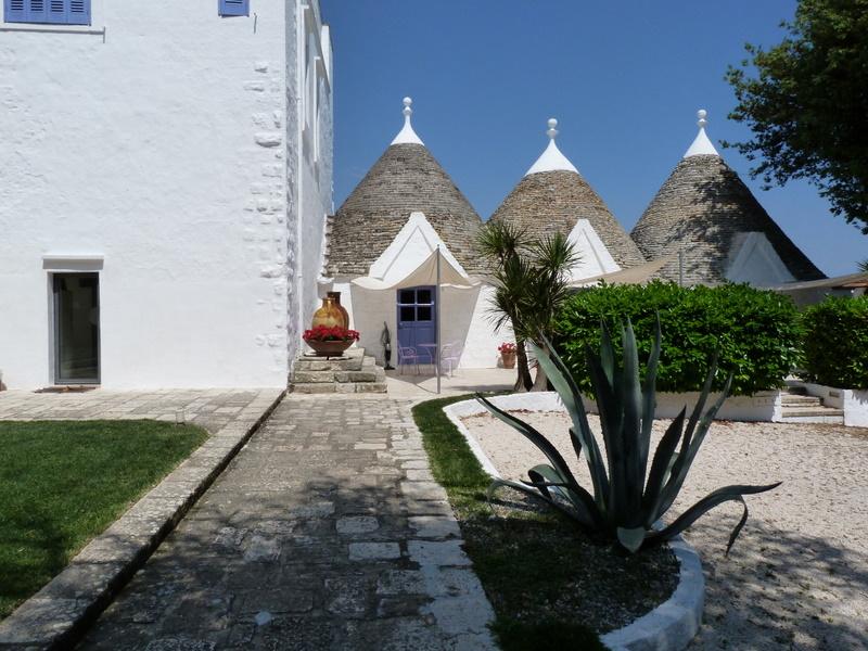 Apulien. Villa Cenci   im Land der Trulli. staedtereisen sonne italien europa  P1010681