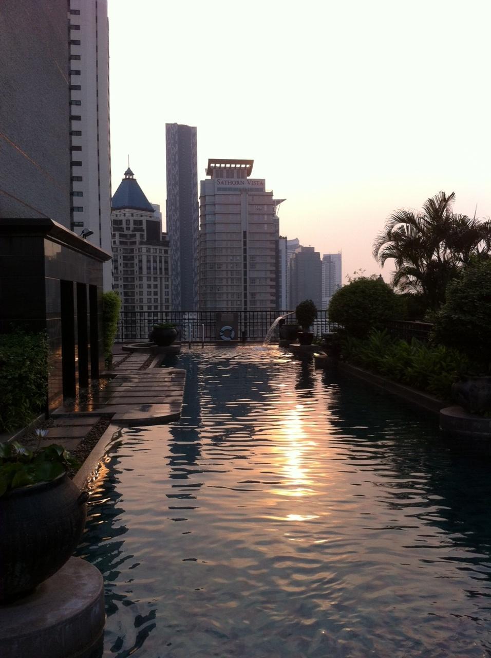 Bangkok und Chiang Mai thailand asien  PoolBanyanTree