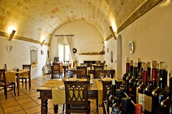 Viverde Hotel Tenuta Moreno, Apulien   Natur aktiv und bewusst erleben. staedtereisen europa  Restaurant