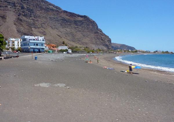Teneriffa und La Gomera europa  Strand Valle Gran Rey1