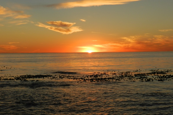Rainbow Nation Südafrika suedafrika staedtereisen sonne safari afrika  Sunset mit Meer