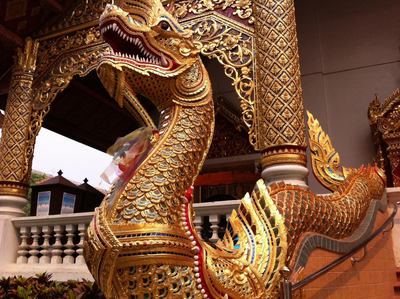 Bangkok und Chiang Mai thailand asien  Tempel CNX