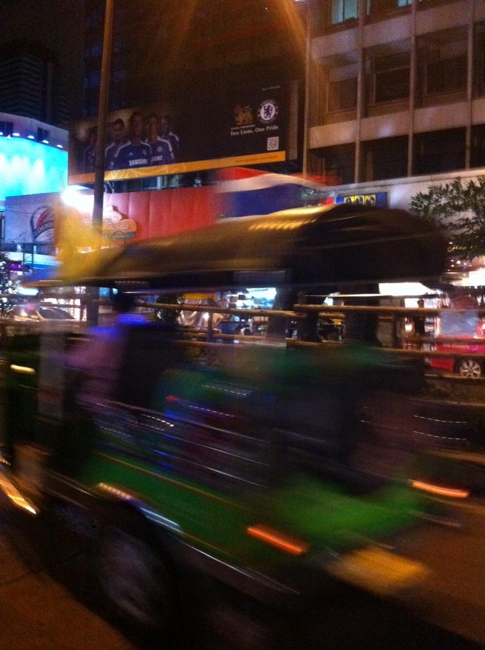 Bangkok und Chiang Mai thailand asien  TukTuk1