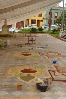 Teneriffa und La Gomera europa  Vorbereitung zum Stadtfest1