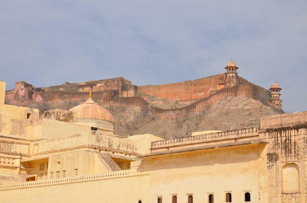 Indien und die Paläste der Maharajas staedtereisen sonne indien asien  amberfort01