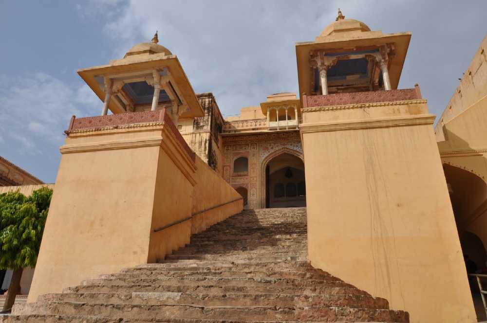 Indien und die Paläste der Maharajas staedtereisen sonne indien asien  amberfort2