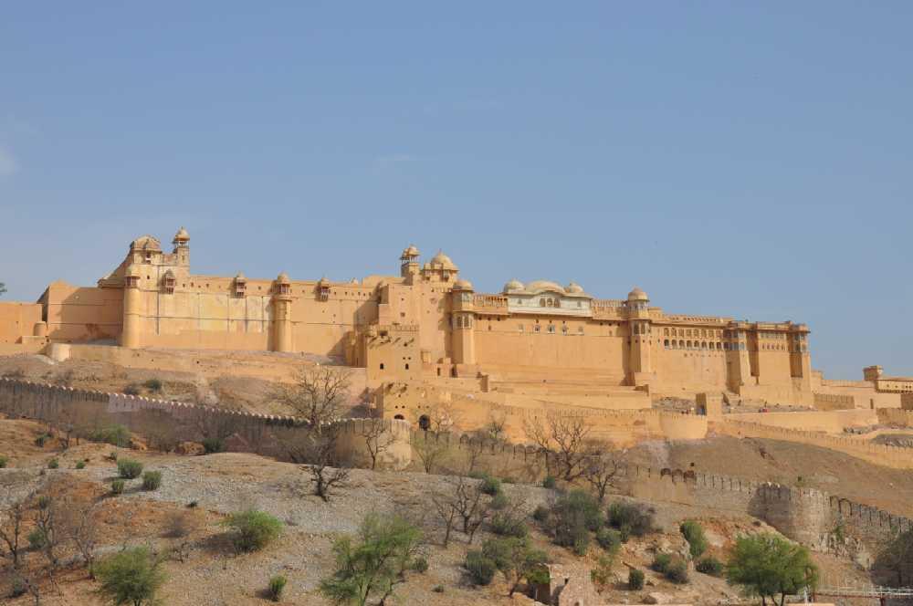 Indien und die Paläste der Maharajas staedtereisen sonne indien asien  amberfort3