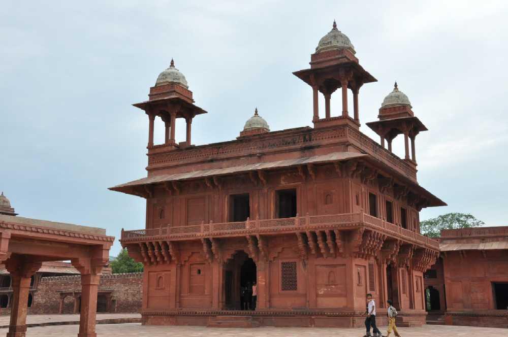 Indien und die Paläste der Maharajas staedtereisen sonne indien asien  fatehpur sikri1