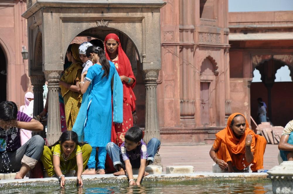 Indien und die Paläste der Maharajas staedtereisen sonne indien asien  freitagsmoschee