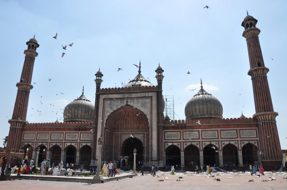 Indien und die Paläste der Maharajas staedtereisen sonne indien asien  freitagsmoschee1