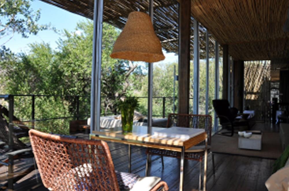 Singita Lebombo & Sweni Lodges suedafrika sonne safari afrika  lobby