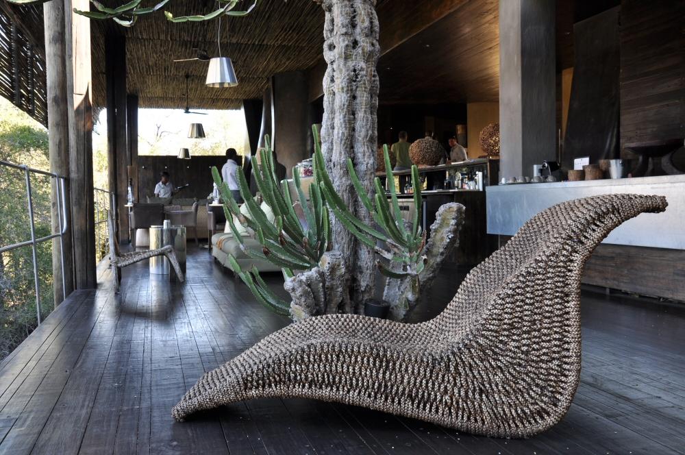 Singita Lebombo & Sweni Lodges suedafrika sonne safari afrika  lobby2
