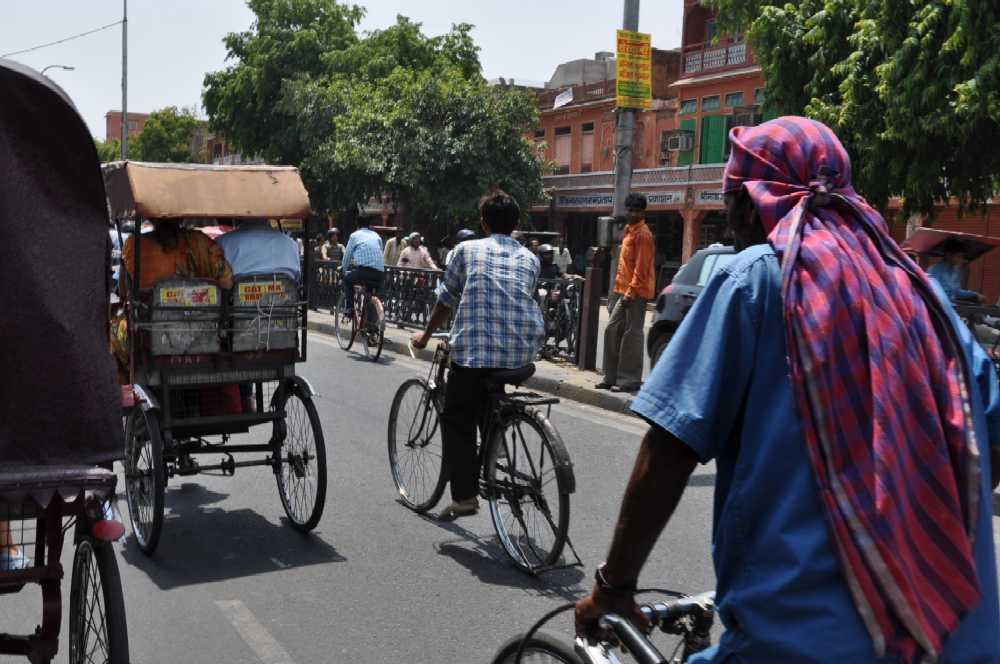 Indien und die Paläste der Maharajas staedtereisen sonne indien asien  markt1
