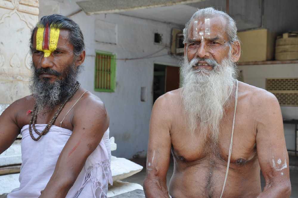 Indien und die Paläste der Maharajas staedtereisen sonne indien asien  markt3 menschen