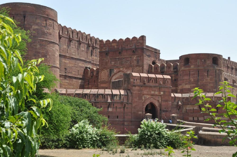 Indien und die Paläste der Maharajas staedtereisen sonne indien asien  rotesfort1