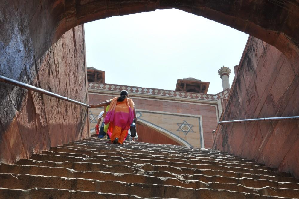 Indien und die Paläste der Maharajas staedtereisen sonne indien asien  stadtrundfahrt durch delhi