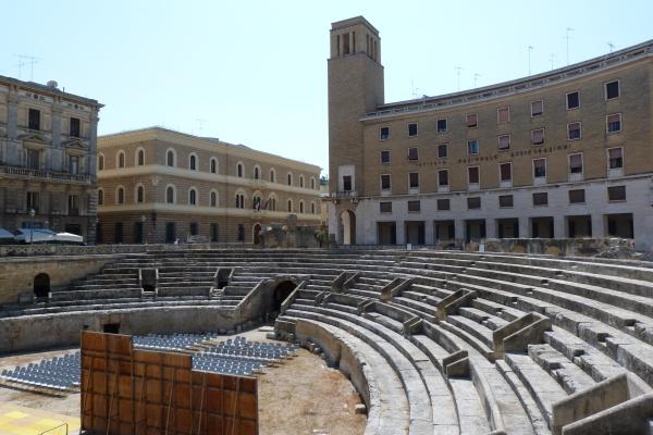 Viverde Hotel Tenuta Moreno, Apulien   Natur aktiv und bewusst erleben. staedtereisen europa  teatro di Lecce